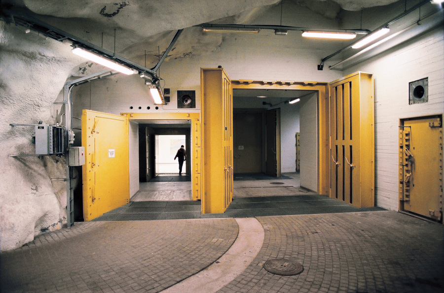 in tampere they make use of  their bomb shelters