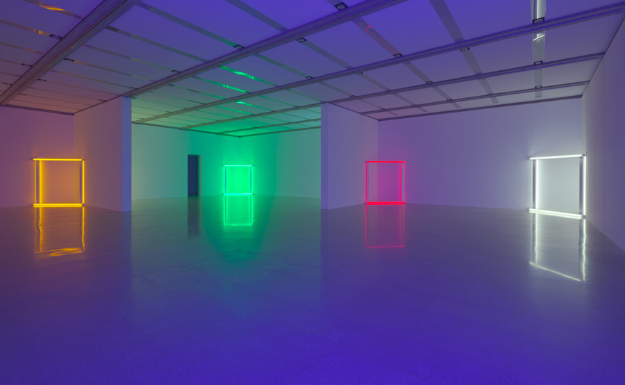 dan flavin - lights